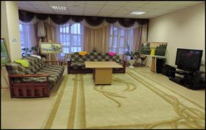 уютная комната отдыха